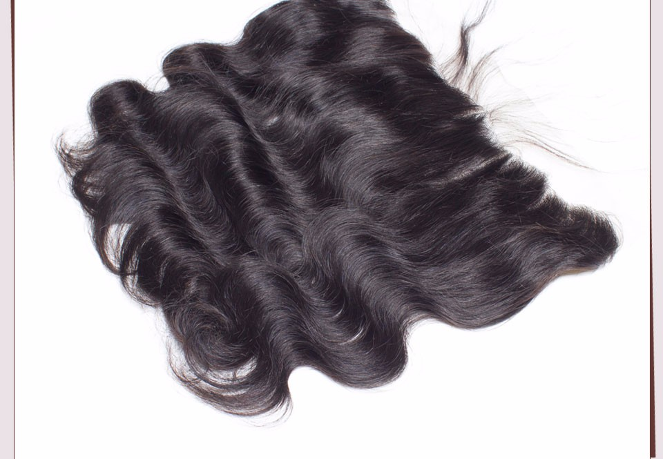 Ear To Ear Lace Frontal Closure With Bundles Brazilian Body Wave Virgin Hair Human Hair 3 4 Bundles With Frontal Closure Bundle