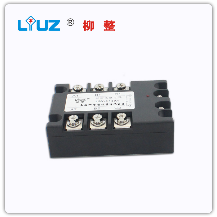 [ZOB] Three phase solid state relay 150DA JGX3 reinforced copper base plate - rectifier<br><br>Aliexpress
