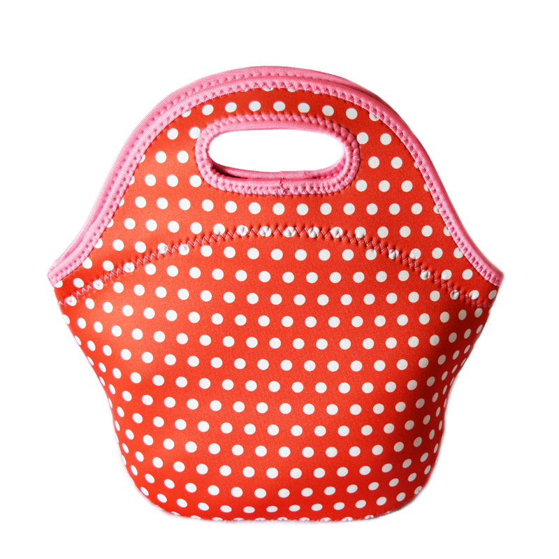 Neoprene Insulated thermal lunch bag cooler bags for outdoor large picnic bags Women children packing kids Baby food Handbag Box(China (Mainland))