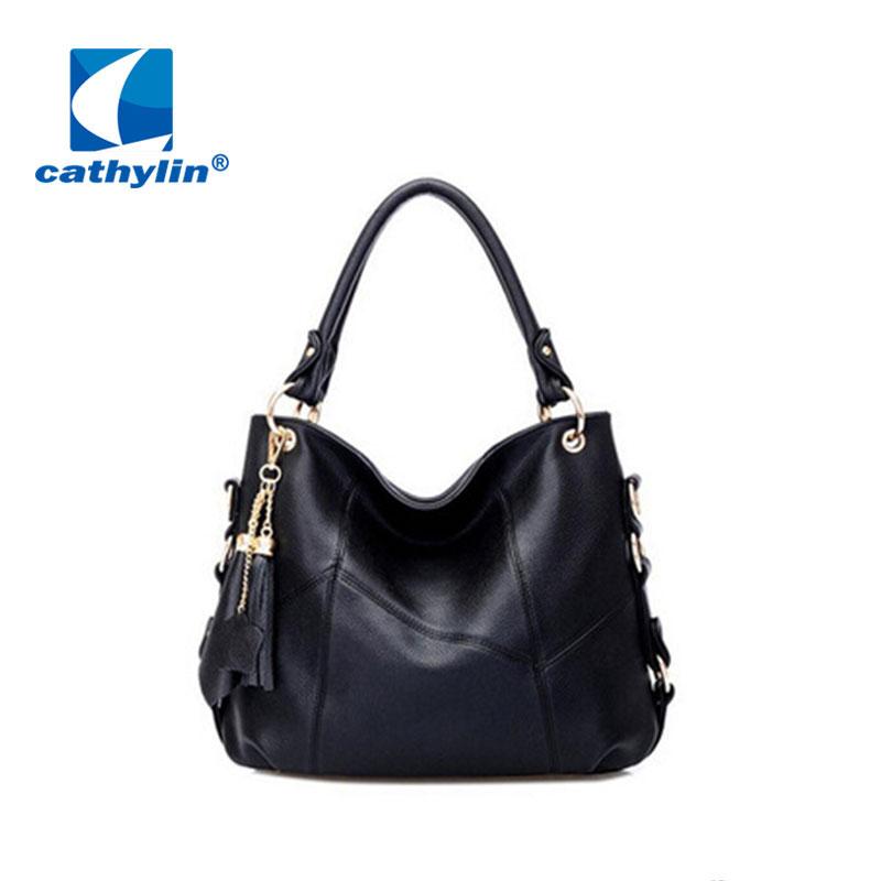 2015 new autumn fashion preppy style stamp one shoulder bags women pu leather handbags women messenger bags women handbag(China (Mainland))