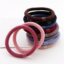 Buy 10pcs/lot 2017 New Elegant Elastics Hair Holders Hair Bands Gum Fashion Women Rubber Bands Girl's Headwear Tie Hair Accessories for $1.55 in AliExpress store