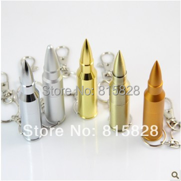 NEW 2015 Popular disk 4G 8G 16G 32GB Metal Bullet Shaped USB Flash Memory Stick Flash Drive Pen Drive 2 colors 32GB FLASH Driver(China (Mainland))