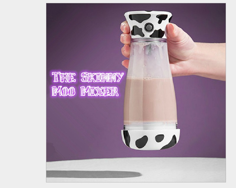 Charged stirring electronic cups milk coffee chocolate mixed agitate glass bottle hot selling free shipping(China (Mainland))