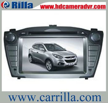 2013 Hot selling  7 inch 2 din car dvd player for Hyundai IX35 with gps and canbus (RAHY09)