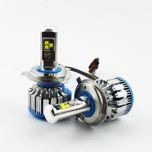 Buy 2pcs Car Headlight Bulb Cree LED chip 12V 6000K 80W Hi Lo Beam Automobile head Light Lamp Auto headlamps H11 H4 H7 9005 9006 H1 for $19.65 in AliExpress store