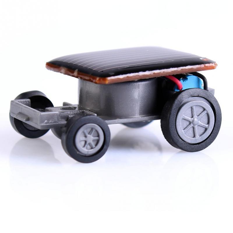 Solar Power Mini Toy Car Racer Educational Gadget W PTCT(China (Mainland))