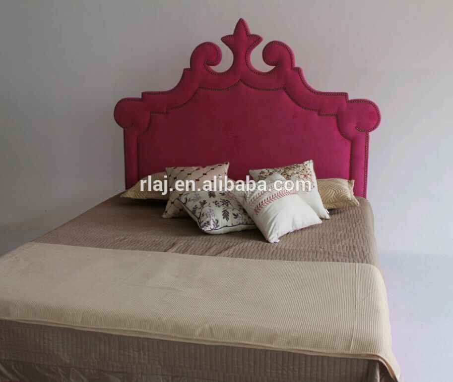 High-end fabric bed furniture of North American style with solid wood for fashion<br><br>Aliexpress