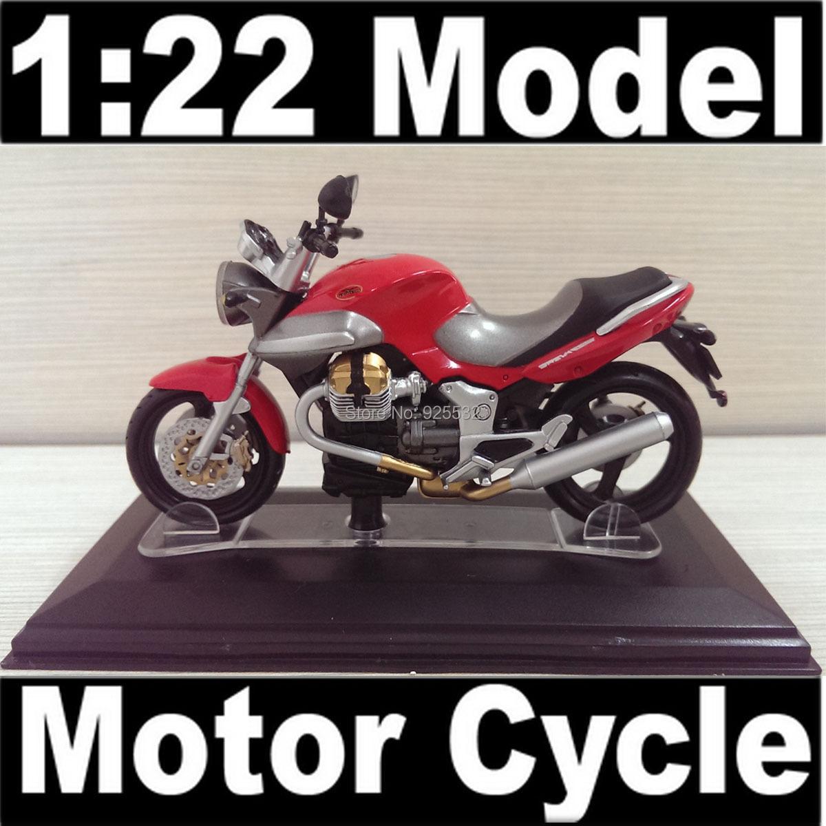 NEW Motor GUZZI (Breva v1100) Diecast Model 1:22 Motor Cycle model with Plastic Transparent box show Toy model FREE SHIPPING(China (Mainland))