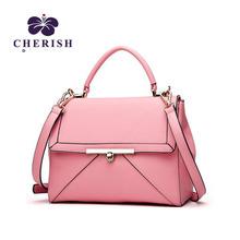 [RU]cherish Dianna women shuolder Bag Fashion messenger bag Covered type fine car suture handbag for ladies(China (Mainland))