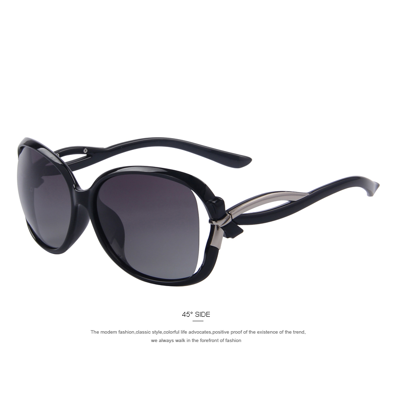 Новый женский марка дизайнерский бренд класса люкс мода поляризовыванная солнцезащитных очков женщин горный хрусталь украшения очки поляроидный 6 цвет