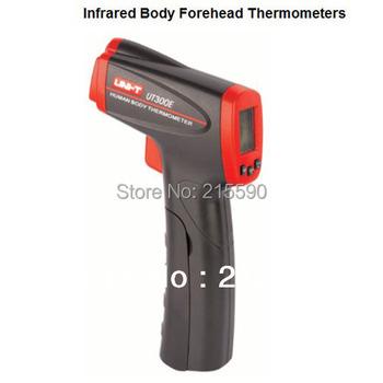 UNI-T UT300E Non-Contact Infrared Body Forehead Thermometers UT-300E Temperature Laser Gun 32~42.5C