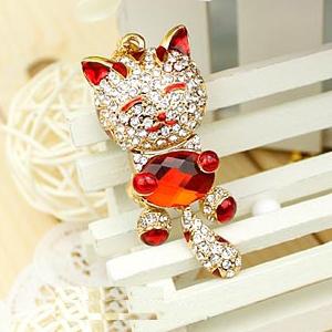 Lucky Cat Red Jewelry Pendrives Pen Drive 128GB 16GB 32GB Pendrive 64GB Mini Usb Flash Drive 1TB 2TB Memory Stick Usb Key Gift(China (Mainland))