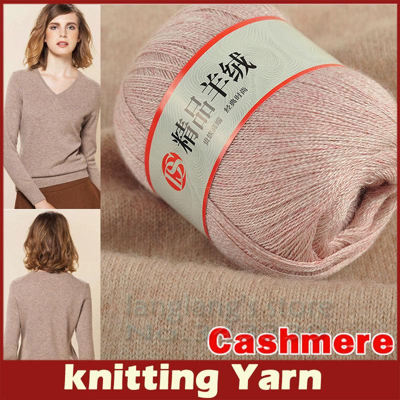Wholesale Cashmere Knitting Yarn Cashmere Knitting Wool Ball For Sweater Clothing Hand Knitting Children's Skin Care Wool Yarn(China (Mainland))