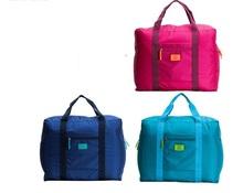 2015 fashion bag folding garment bag baggage sorting Necessary portable nylon travel pouch finishing bags bags(China (Mainland))