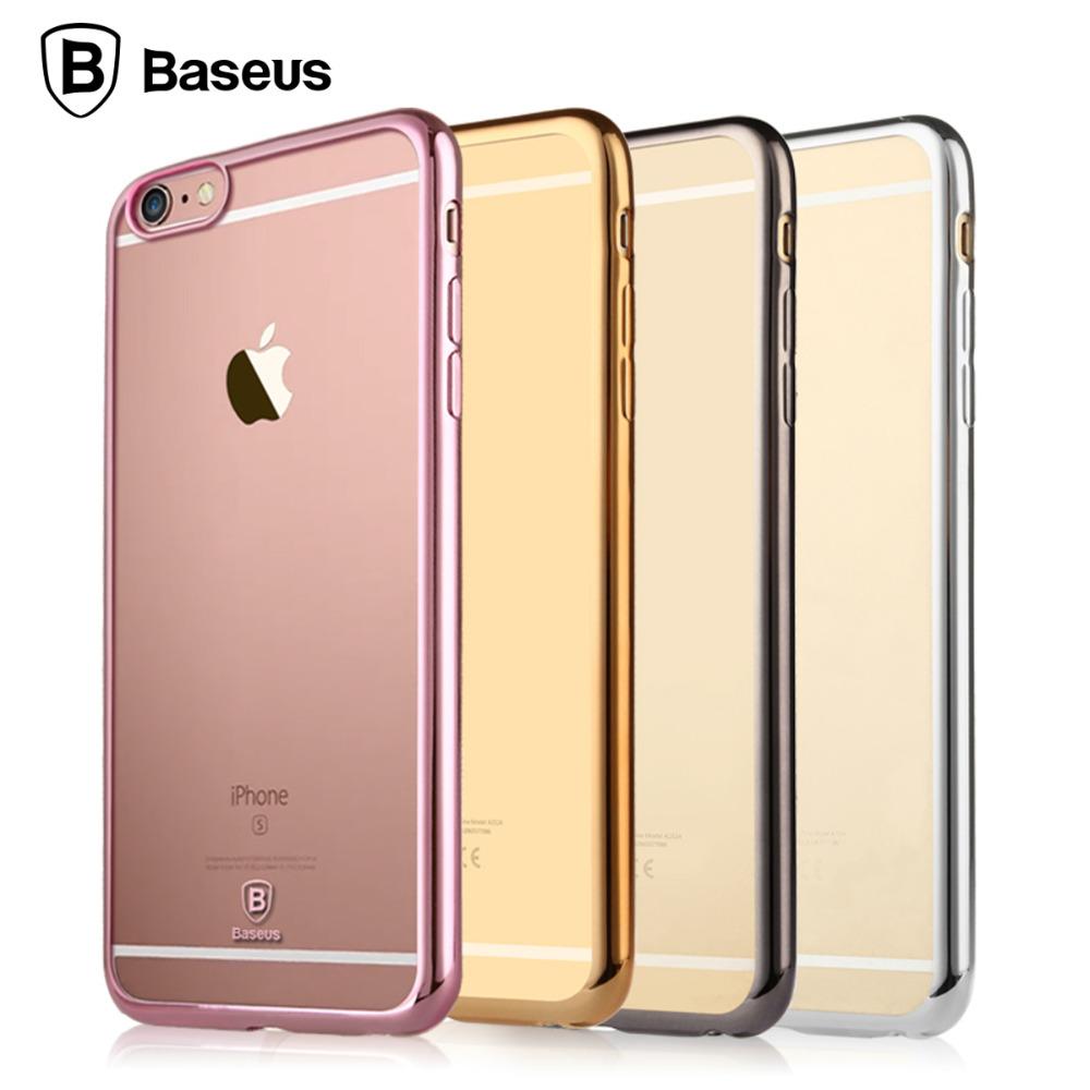 Baseus Shining Smart Phone Hard Case Back Cover For Apple iPhone 6 6S 4.7(China (Mainland))