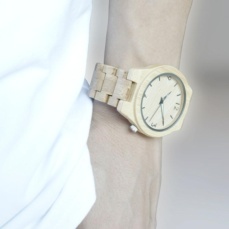 BOBOBIRD Природных Все Древесины Бамбука Часы Лучший Бренд Класса Люкс Мужские Часы Wth Японский 2035 Движение Для Подарка