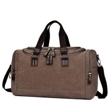 2017 Vintage Canvas men travel bags Carry on Luggage bags Men Duffel bag Women Large Capacity travel tote large weekend Bag(China (Mainland))
