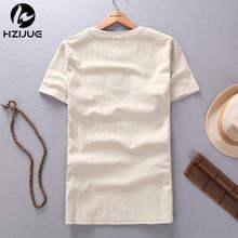 Summer Style Men T shirt Fashion Pure color 2015 XXXL Fitness T shirt linen Short Slim