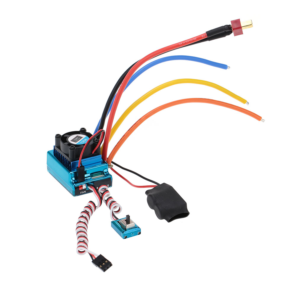 Brand New 120A Sensored Brushless ESC Speed Controller for 1/8 1/10 1/12 RC Car(China (Mainland))