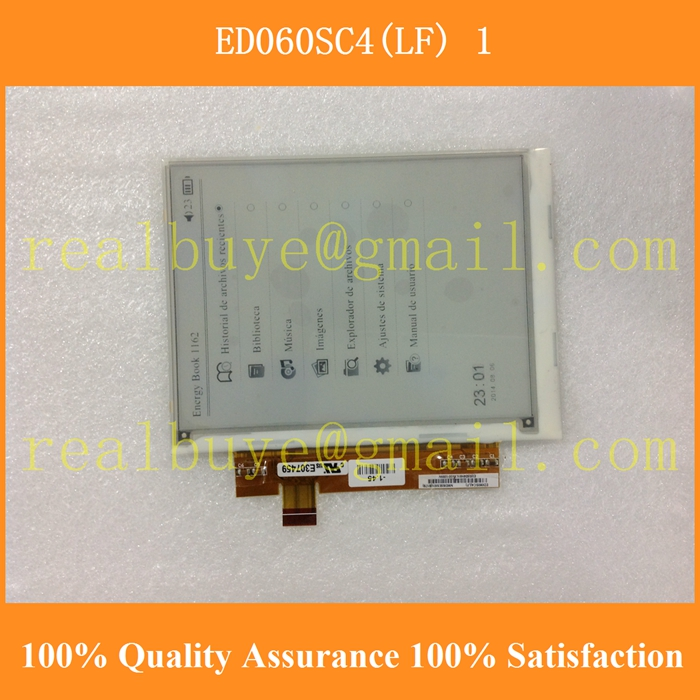 """Free shipping Compatible ED060SC4 ED060SC4(LF) 6"""" e-ink/ebook LCD screen For Amazon kindle 2 PRS500/600 PocketBook 301(China (Mainland))"""