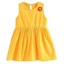 2019 ARLONEET חדש קיץ שמלת רשת בנות פעוטות ילדים תינוקת מוצק פרח מזדמן נסיכת המפלגה שמלה קיצית בגדי Z0205(China)