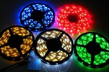 LED Strip 3528 DC12V IP65 Waterproof 5m/lot White / Red / Green / Blue / RGB led Strip High Power Car Auto DRL Decor Flexible(China (Mainland))