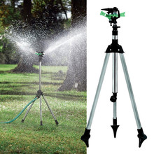 2016 New High Quality Tripod Impulse Sprinkler Pulsating Telescopic Watering Lawn Yard and Garden(China (Mainland))