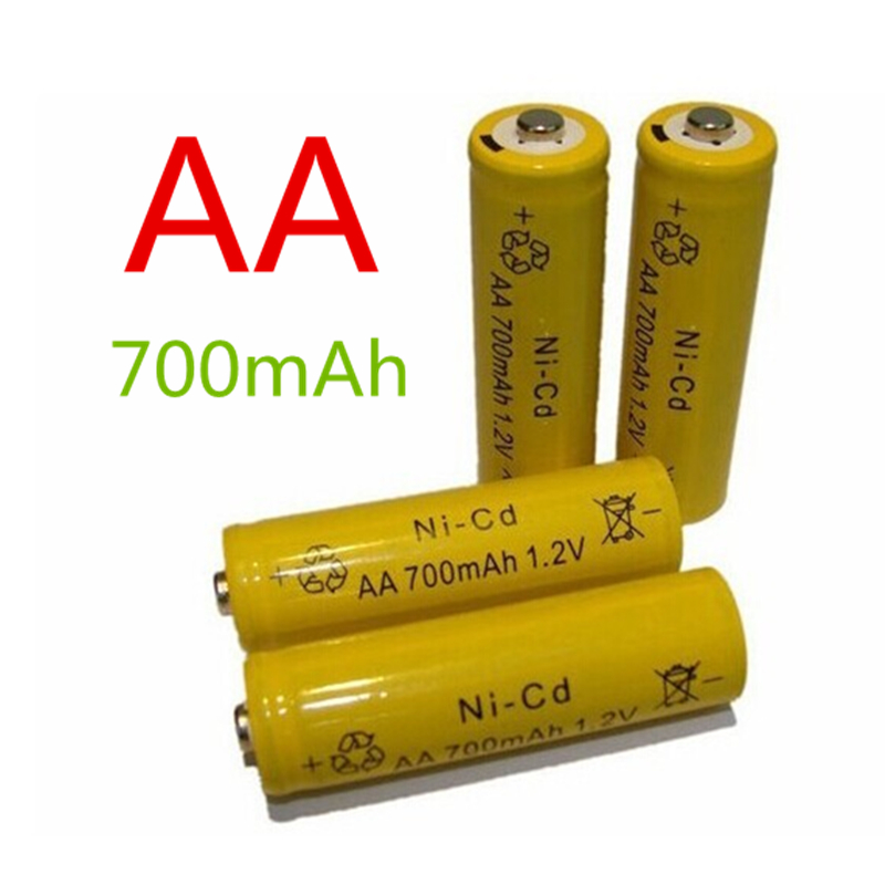 14500 Rechargeable AA Battery 1 pcs/lot 700mAh 1.2V Ni-CD 2A Neutral Battery for RC Controller Toys Electronic Etc.(China (Mainland))