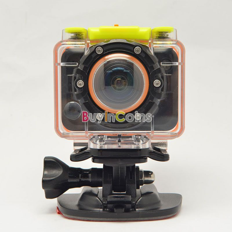 T10W HD 1080P Waterproof Sport Action Camera Diving DV Camcorder Remote Watch eBic #63916(China (Mainland))
