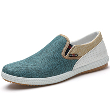 Free Shipping Hot Sale Mens Shoes Casual Flat Comfortable Platform lazy Shoes Mixed Colors Men Canvas Shoes 47 TXJ(China (Mainland))