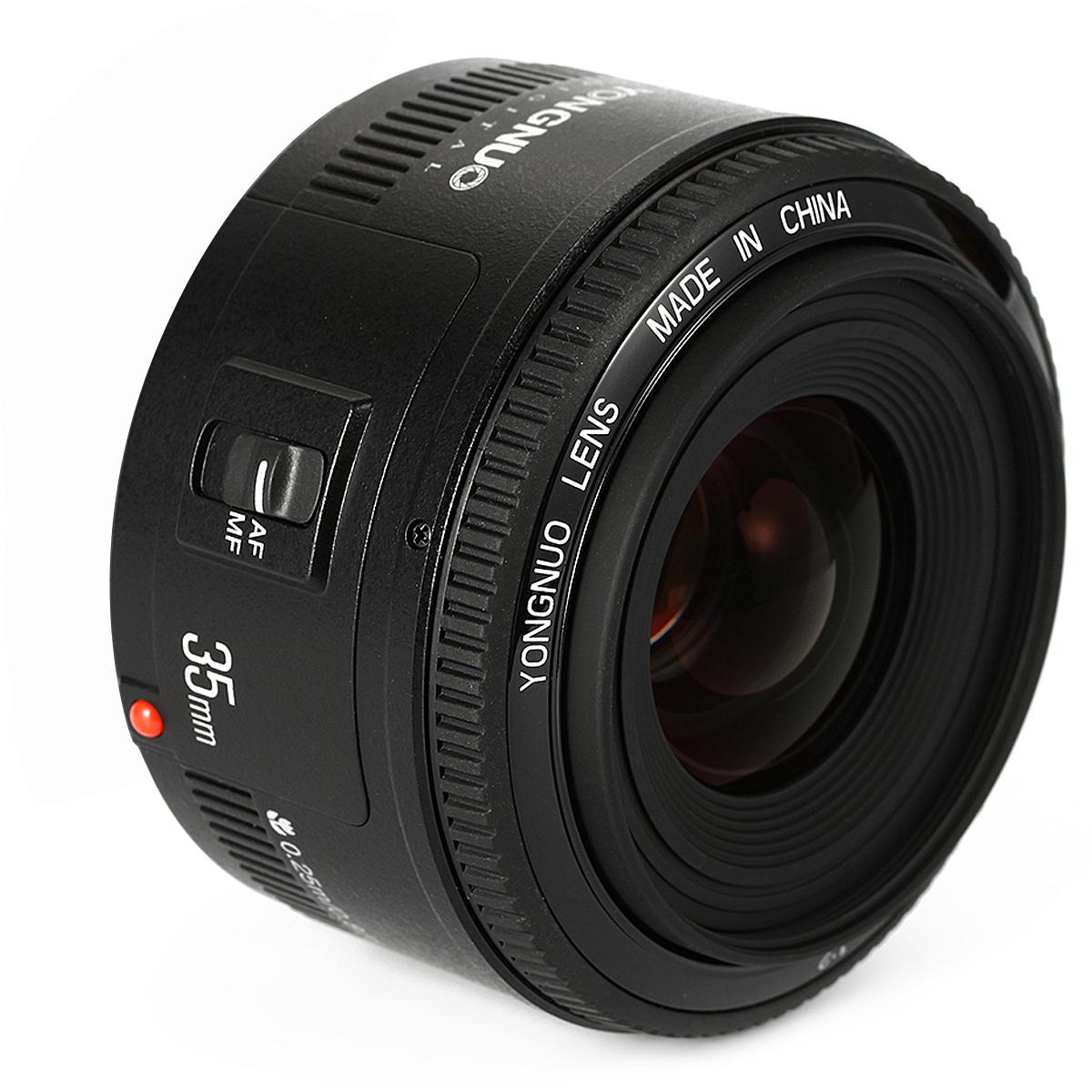 Вспышка yongnuo йн 35мм F2 большие диафрагмы автофокусировка объектив для канона EF EOS камеры LF710