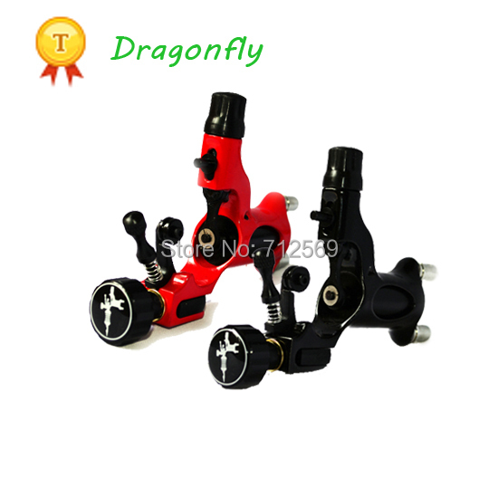 Hot sale 2pcs Dragonfly rotary tattoo machine high quality tattoo machines shader and liner free shipping(China (Mainland))
