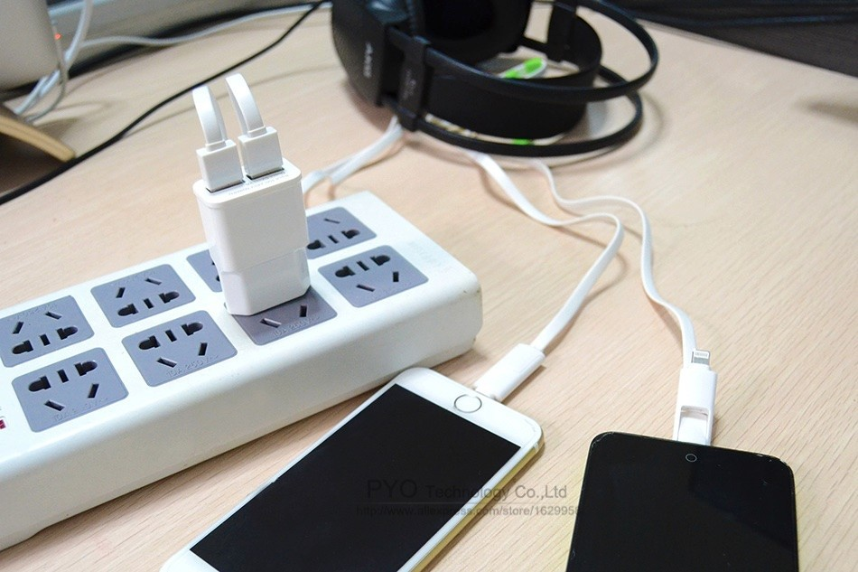 6PYO EU iPhone Charger 5V 2A