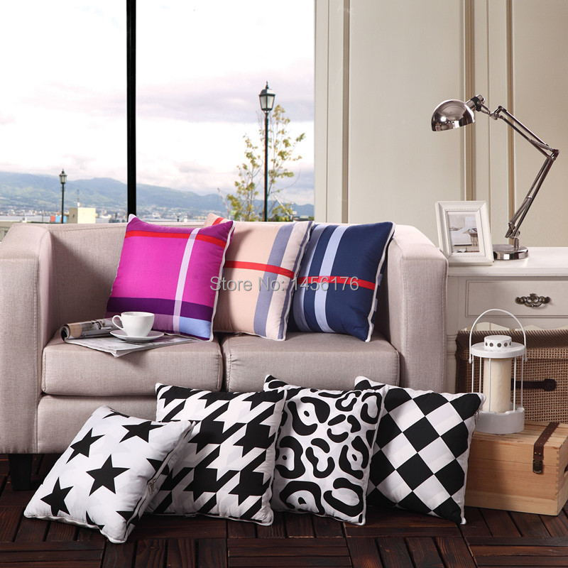 Fashion multi-function sofa pillow cushion car cushion rest blanket wholesale 50*50 40*40(China (Mainland))