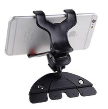 Universal CD Slot Car Cell Phone Holder Mount For iPhone 5 6 Plus For Samsung Galaxy Mobile Phone GPS Bracket Stands(China (Mainland))