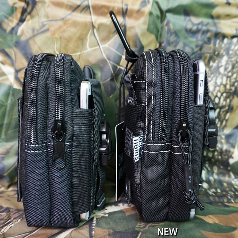 OneTigris 1000D Nylon Waist Bag Pack Compact MOLLE EDC Pouch Belt Bag for iPhone6 iPhone6s Plus(China (Mainland))