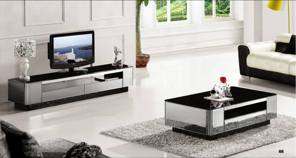 miroir gris moderne moderne mobilier table basse meuble tv 2 pe a ensemble grand salon mode. Black Bedroom Furniture Sets. Home Design Ideas