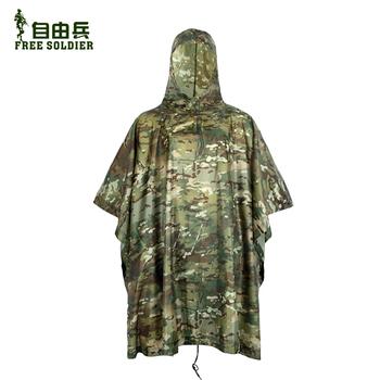 FREE SOLDIER Непромокаемая одежда, многофункциональная скрытая  накидка от дождя для лесов и напольный коврик  универсальная природосберегающая скрытая одежда