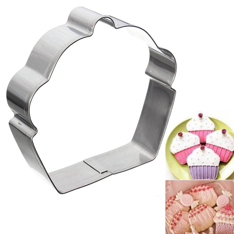 Гаджет  Creative Eco Friendly Stainless Steel Cake Cupcake Cookie Cutter Fondant Biscuit Baking Cutter Mould Kitchen None Дом и Сад
