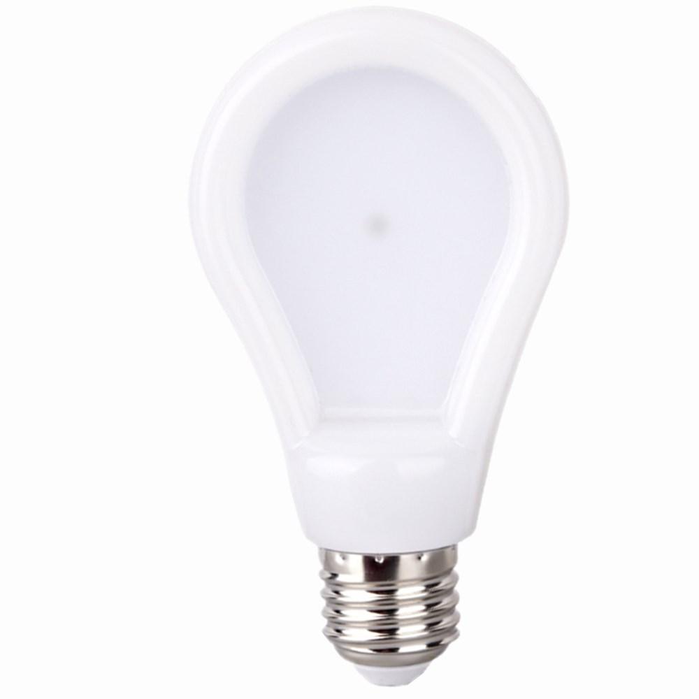 6w 7w 9w E27 LED bulb 220v 110v SMD 2835 LED lamp light super bright slim warm cool white PC Christmas lampada candle tube(China (Mainland))