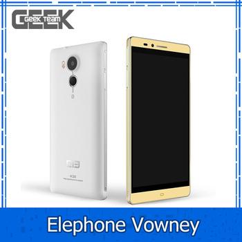 """Предпродажные ELEPHONE VOWNEY 4 г LTE мобильный телефон Android 5.1 5.5 """" 2 К MTK6795 Octa ядро 3 ГБ / 64 ГБ 2560 * 1440 8.0MP 20.7MP 3800 мАч телефон"""