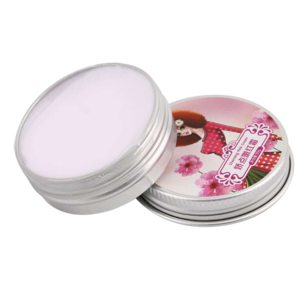 Women Private Whitening Moisturizing Secret Pink Lips Areola Cream Enzyme Crystal Collocation 30ml Skin Care 2017 Hot Sale