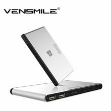 Vensmile W10 Mini PC con Windows 8.1 Mini TV caja Quad Core Intel Atom Z3735F 1.3 Ghz Windows 8.1 HDMI TV Player 2 GB / 32 GB portátil PC(China (Mainland))