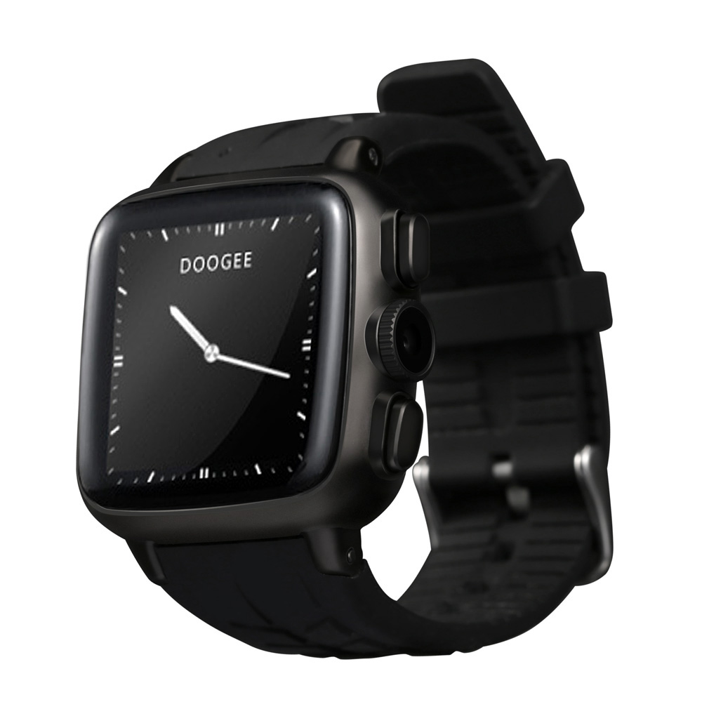 """DOOGEE S1 Bluetooth Smart Watch Cellphone 3G Android 4.4 MTK6572 Dual Core SIM 1.54"""" IPS 512MB+4GB 5MP Camera Mic Heart Rate(China (Mainland))"""