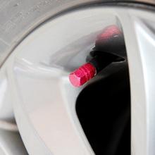 Aluminum car valve cap(4/p) valve core tire valve 4 mounted air nozzle cap tire valve cap(China (Mainland))