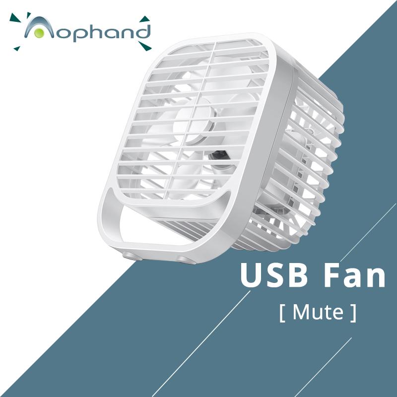 New Ultra-quiet Mini USB Desk Fan Office Mini Fan Silent Desktop Fan Four Blades Creative 7 inch Big Wind Fan USB Power 5V(China (Mainland))