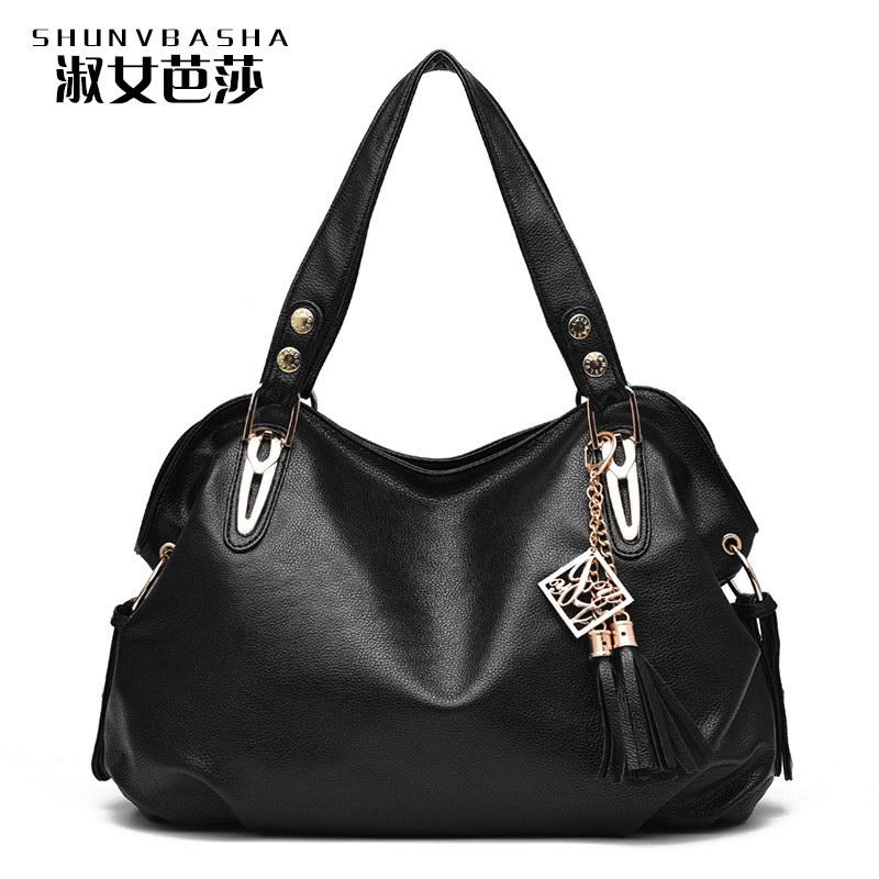 Casual Soft Hobos PU Leather Crossbody Bags Lady Shoulder Bag And Top Handle Women Handbags Women's Messenger Bags Tote Handbags(China (Mainland))