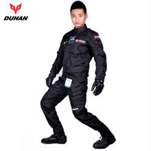 Schutz für motocross moto racing kleidung DUHAN 020 motorradfahrt jacken hosen autorennen kleidung(China (Mainland))