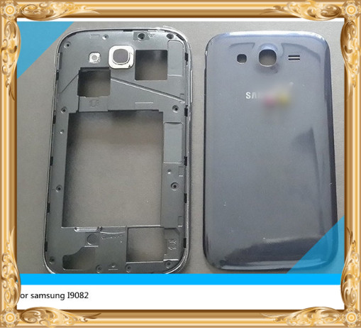 Original For Samsung GALAXY Grand DUOS I9082 housing set Cover Middle Frame +Back housing Complete Replacement<br><br>Aliexpress