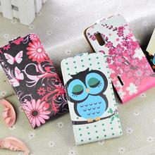 Buy LG Optimus L5 E610 E612 E615 case Cute Flip Leather Wallet Case Cover High stand function card slots for $3.99 in AliExpress store